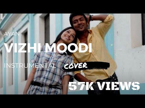Vizhi Moodi (Ayan) - Instrumental Guitar and Flute Acoustic Cover - Harris Jeyaraj Tamil Song