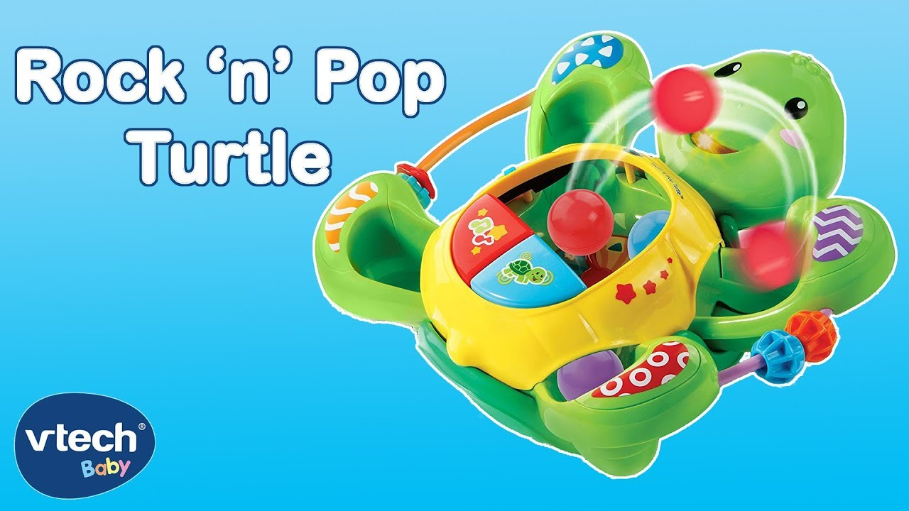 Vtech Toys Uk Rock N Pop Turtle Toys For Kids Youtube