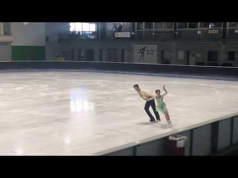 NRW Summer Trophy 2018 Vasilisa GRIGOREVA / Lev SERGEEV Free Dance
