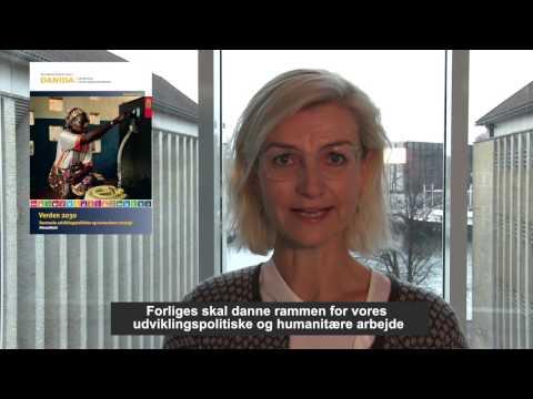 Ulla Tørnæs lancerer ny udviklingspolitisk strategi - Verden 2030