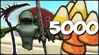 DÉPENSER 5000 BONBONS DE MAÏS! (HALLOWEEN EXOTIC CASE UNBOXING) Assassin Roblox