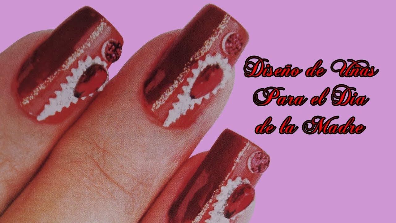 Fotos o imagenes de u as decoradas manicure dise o de for Decoracion para pared dia de la madre
