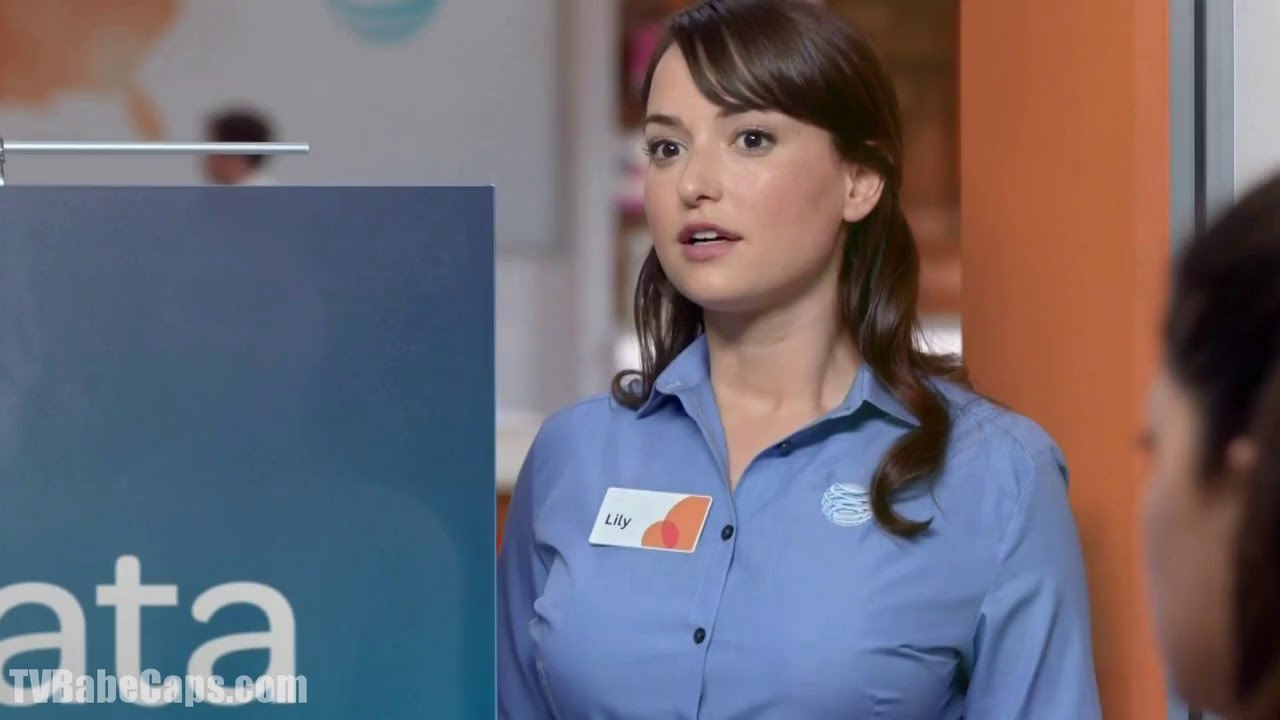 """Milana Vayntrub - AT&T """"Instant Crowd"""" TV Commercial - YouTube"""