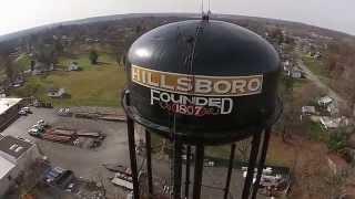 Aerial video of Hillsboro, OH. Phantom 2 Vision Plus.