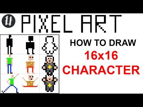 8x8 pixel art tutorial