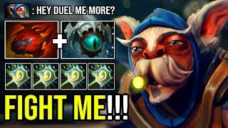 WANT TO DUEL ME? Crazy Tanky Meepo GOD 100% Infinite Web Root No Mercy Allowed DotA 2