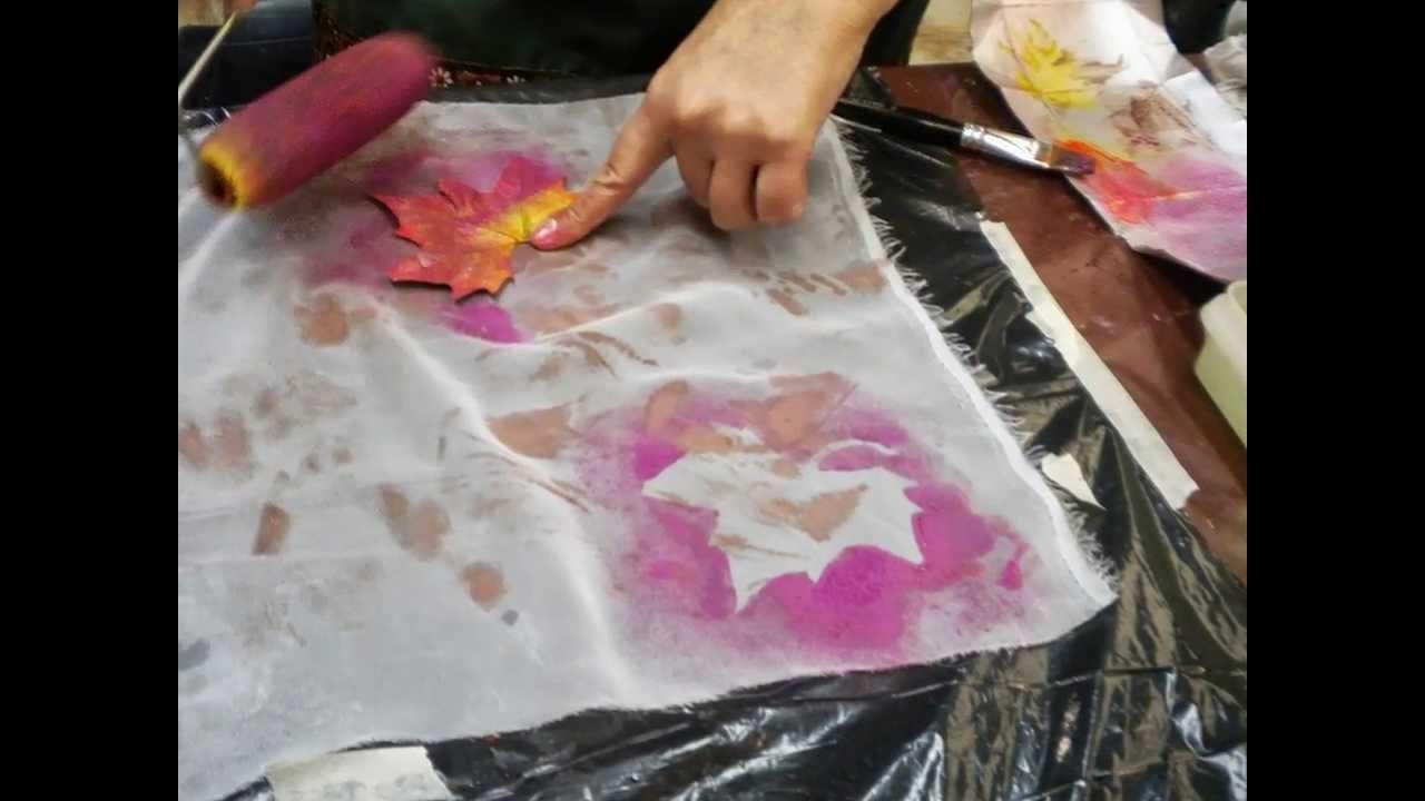 Pintura sobre tela nuevas tecnicas para telas de fibra - Pintura en tela motivos navidenos ...
