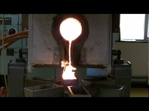 £2.75m Gold Melt - 500k Gold Bar Being Made