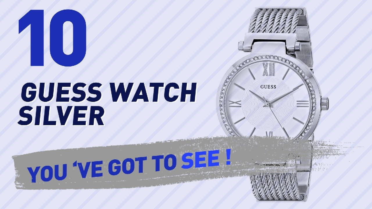 fcf09af2c News-guess womens u0135l1 petite silver tone watch with silver dial