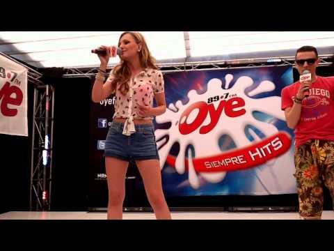 One Million - Alexandra Stan en el Oye Live de Oye 89.7 FM