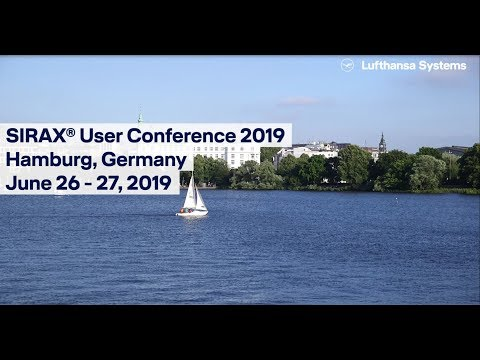 SIRAX® User Conference 2019  / Lufthansa Systems