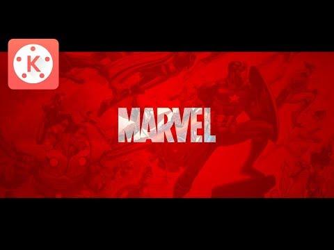 Как сделать интро Marvel в Kinemaster? | Туториал по Kinemaster