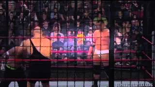 WWE No Way Out 2009  Smackdown Elimination  Chamber Match   -2