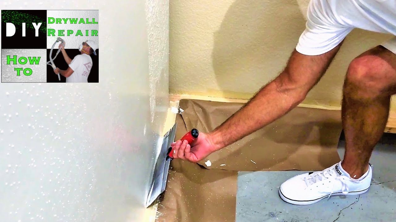 skim coating walls for beginners tutorial youtube. Black Bedroom Furniture Sets. Home Design Ideas
