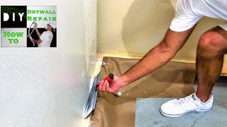 Skim coating walls for beginners tutorial