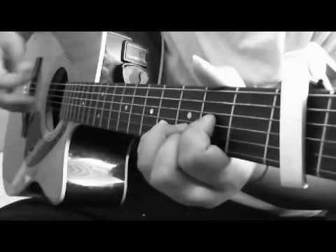 jimmy eat world- hear you me acoustic guitar cover + chords