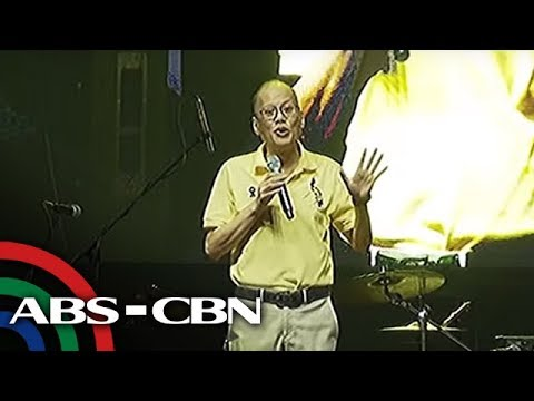 Top Story: Aquino attends EDSA rally; breaks silence on measles outbreak