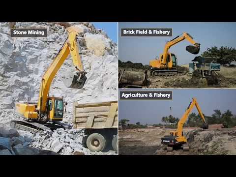 Making Of Hyundai Excavator At Manufacturing Plant, Chakan, Pune.