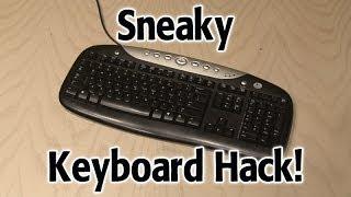 Repeat youtube video Sneaky Keyboard Hack!