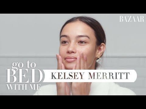 Victoria&39;s Secret Model Kelsey Merritt&39;s Nighttime Skincare Routine  Go To Bed With Me