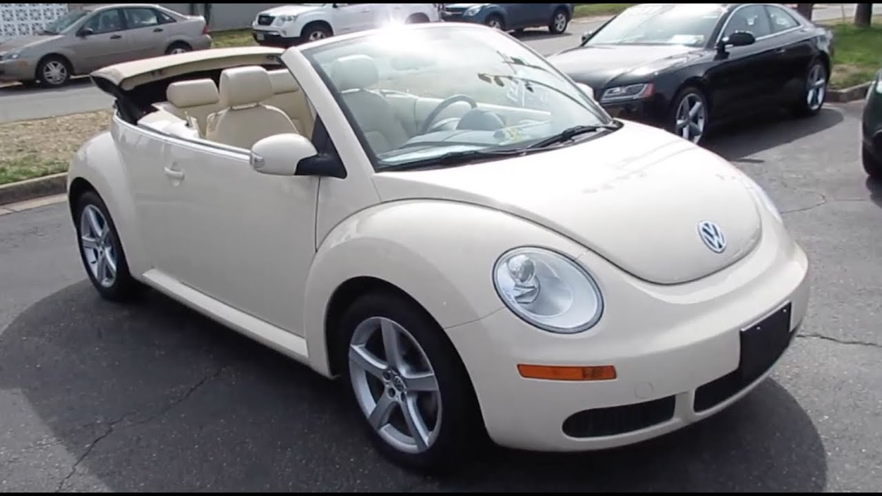 image gallery 2008 volkswagen beetle. Black Bedroom Furniture Sets. Home Design Ideas