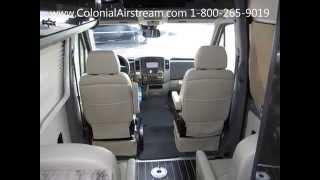 2014 5 Airstream Interstate 3500 24' Extended Lounge 9 Passenger Rv Limo Conversion Van Sprinter