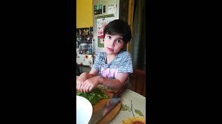 Правильный летний овощной салат 2019