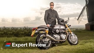 2016 Triumph Thruxton R bike review