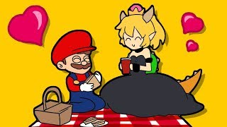 BOWSETTE VS MARIO & LUiGI & WARIO (Official series) Booette Animation Horror Game