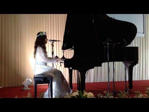 ดนตรี งานแต่ง เดี่ยวเปียโน (นักร้อง) สากล You got a friend -Coverโดย www.FineOrawanya.com