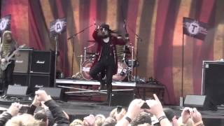 Avatar Hail the Apocalypse [ HD ]   Live at Louder Than Life Festival