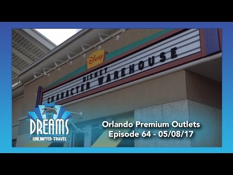 Shopping at the Orlando Premium Outlets | 05/08/17