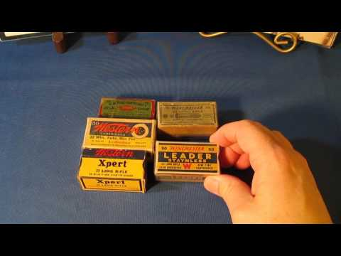 Collecting Vintage Antique Ammo - Winchester Western Cartridge Co