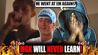MGK Dissing Eminem Again! (REACTION!)