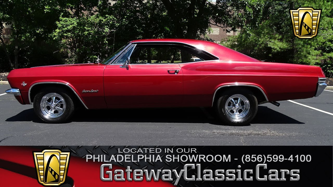 1965 Chevrolet Impala Ss Gateway Clic Cars Philadelphia 123