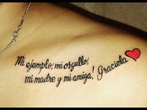 Frases Para Tatuajes En El Hombro Para Mujeres Y Hombres Youtube