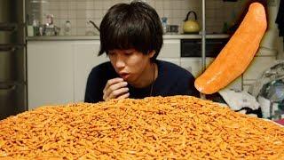 【10Kg】人類は柿の種をどれだけ食べる事ができるのだろうか?