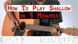 Hey, this video shows you how to play the intro/verse part of shallow from a star is born. ---nsr production website: nsrproduction.com---instagram account: ...