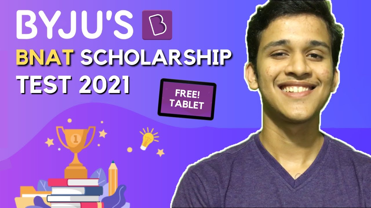 Download How to get BYJU'S BNAT Scholarship 2021 | What to STUDY?