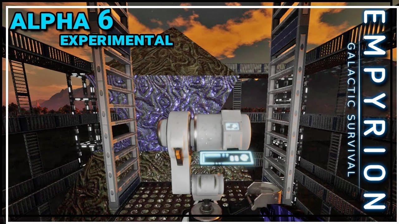 ☆ Empyrion Galactic Survival alpha 6 gameplay - Excavation