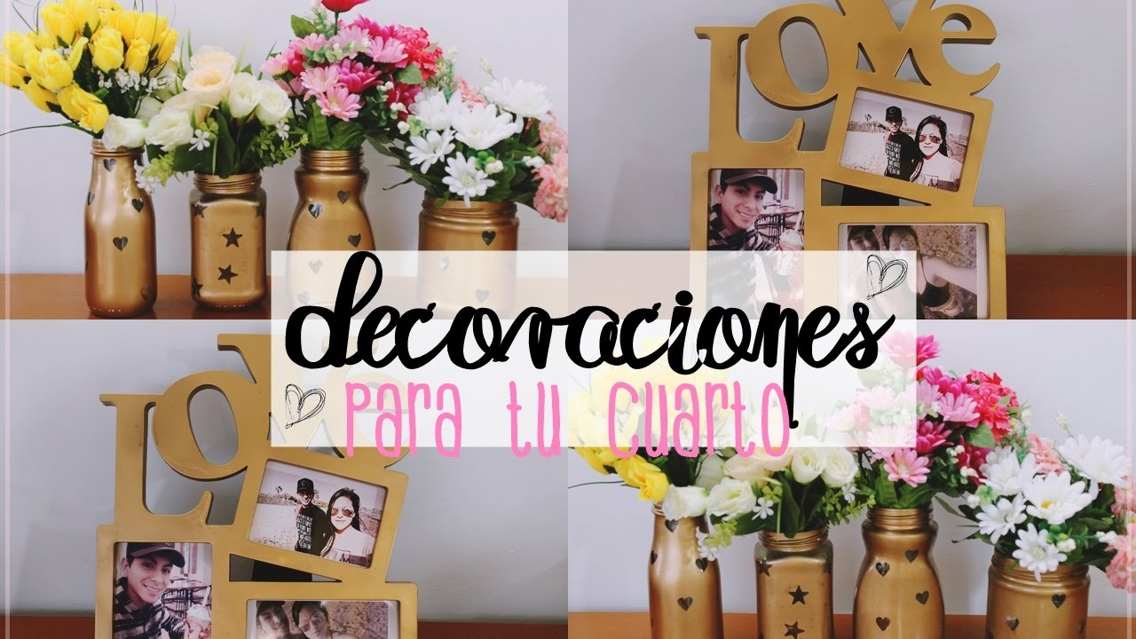 Cosas para decorar mi cuarto youtube for Ideas para decorar mi cuarto