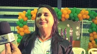 Secretária Fátima Holanda - Cerimônia de entrega do fardamento escolar para alunos da rede municipal