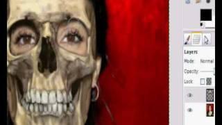 GiMP Tutorial: Face Mask