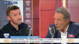 Olivier Besancenot porte-parole du NPA est l'invité de Jean-Jacques Bourdin à 8h30
