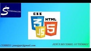 Curso HTML Tutorial 6 - Estilos CSS en texto