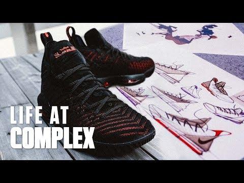 Nike Designer Breaks Down the Lebron 16's!  LIFEATCOMPLEX