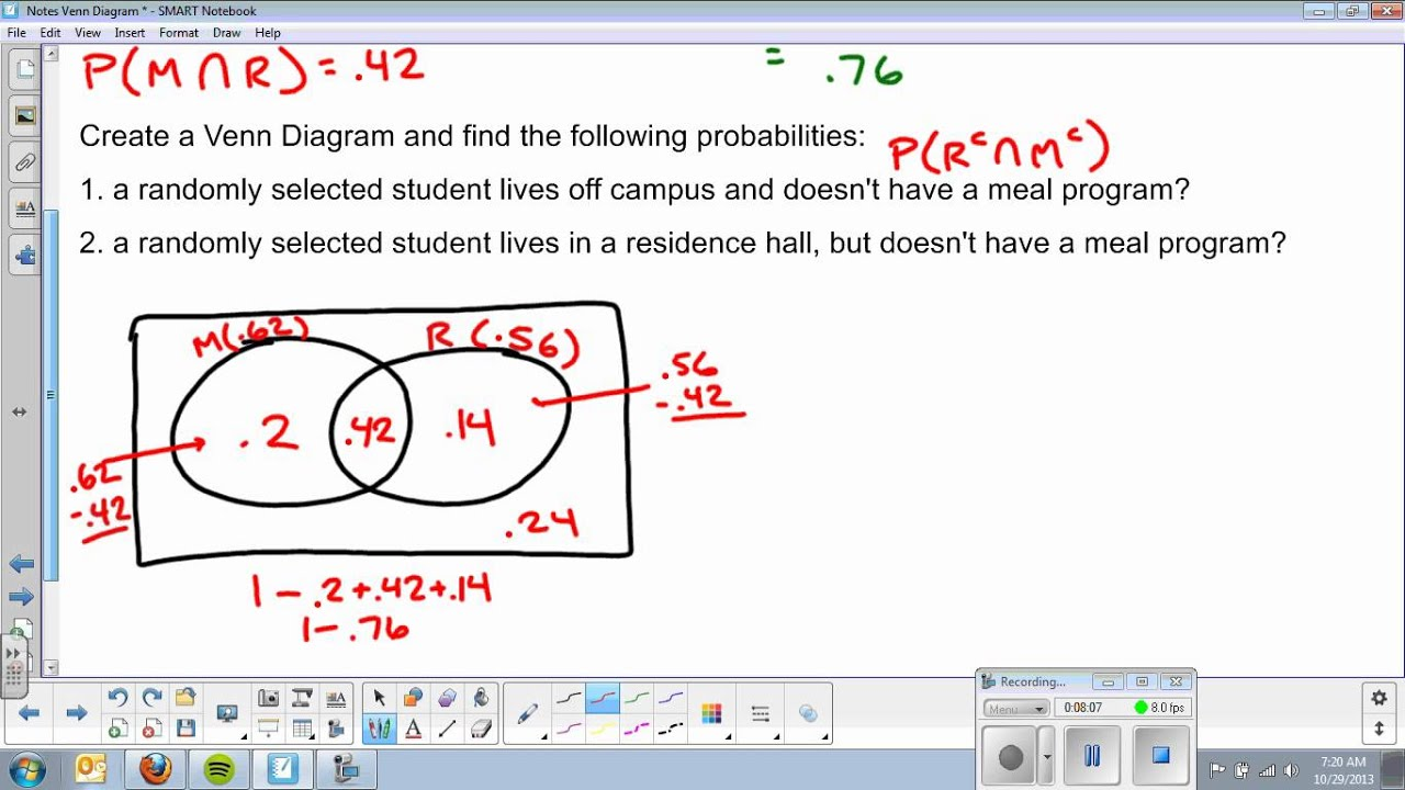Venn Diagram and Addition Rule - YouTube