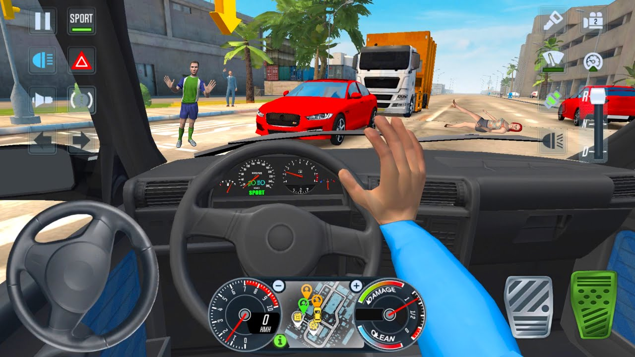 E30 Private Old Car Driving 🚖🔥 Car Games Android 3D City Drive - Taxi Sim 2020