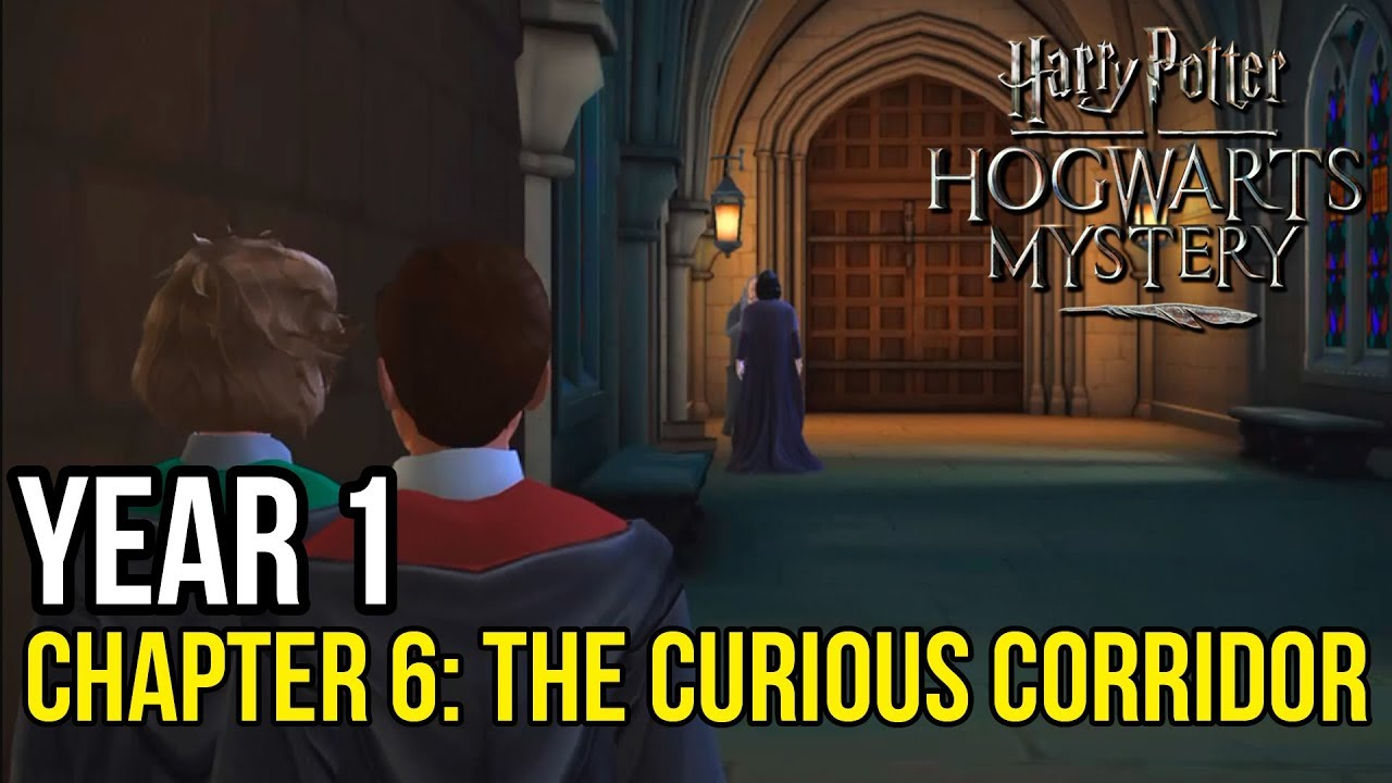 Harry Potter: Hogwarts Mystery | Year 1 - Chapter 6: A CURIOUS ...