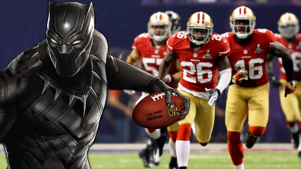WHAT IF BLACK PANTHER WAS A CB IN THE NFL? 99 PURSUIT!!! Superhero Series  (Madden 17)